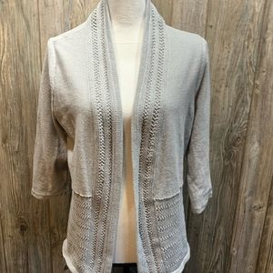 Easy Wear by Chico's silver sweater